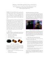 Tài liệu Mô phỏng và thiết kế Hexapod cho gia công cơ khí chính xác docx