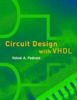 Tài liệu Circuit design with VHDL ppt