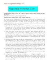 Tài liệu Phân tích nội dung lý thuyết của W. Rostow pdf