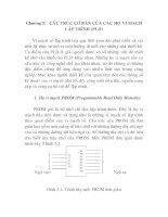 Tài liệu Ứng dụng Vi mạch số lập trình, chương 5 ppt