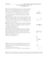 Tài liệu Bài tập bồi dưỡng học sinh giỏi vật lí 12 ppt