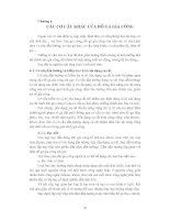Tài liệu Chương 6: Các cơ cấu khác của đồ gá gia công pdf