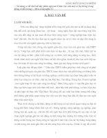 Bài giảng SÁNG KIẾN KINH NGHIỆM CÔNG NGHỆ 11