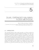 Tài liệu Kalman Filtering and Neural Networks P5 pdf