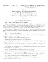 Tài liệu Điều lệ Trường phổ thông - 2007