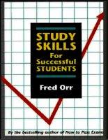 Tài liệu Study Skills For Successful Students docx