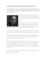 Tài liệu Làm thế nào để trở thành một nhà lãnh đạo ưu tú? pdf