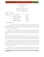 Tài liệu BÁO CÁO KIẾN TẬP ĐỀ TÀI: TRƯNG BÀY HÀNG HÓA Ở SIÊU THỊ CO-OP MART doc