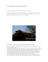 Tài liệu Vua Hàm Nghi và câu chuyện cổ tích kỳ lạ Vũ Thanh (dịch từ bài của GS.TS. pdf