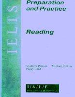Tài liệu Ietls preparation and practice reading doc
