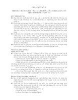 Tài liệu HỆ THỐNG CHUẨN MỰC KẾ TOÁN- CHUẨN MỰC SỐ 22- TRÌNH BÀY BỔ SUNG BÁO CÁO TÀI CHÍNH CỦA CÁC NGÂN HÀNG VÀ TỔ CHỨC TÀI CHÍNH TƯƠNG TỰ pdf