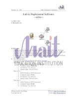 Tài liệu Deployment software doc