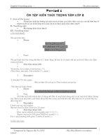 Bài giảng Tiếng Anh 9 trọn bộ 3 cột