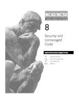 Tài liệu Security and Unmanaged Code pdf