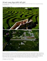 Tài liệu 10 mê cung hoa đẹp nhất thế giới pptx
