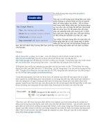 Tài liệu Tự thiết kế trang web riêng miễn phí (phần I) ppt