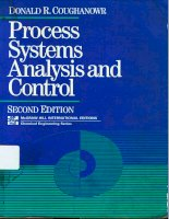 Tài liệu Process Systems Analysis And Control P1 docx