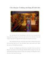 Tài liệu Câu chuyện về những cửa hàng đồ chơi nhỏ pptx