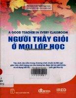 Người Thầy Giỏi Ở Mọi Lớp Học (A Good Teacher In Every Classroom)