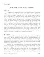 Tài liệu Chương 8: Các ứng dụng trong y dược ppt