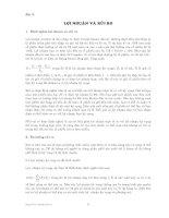 Tài liệu Bài 5: Lợi nhuận và rủi ro doc