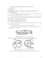 Tài liệu Kỹ thuật nguội Chương 4 : Khoan lỗ, khoét lỗ và doa lỗ doc