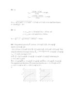 Tài liệu Physics exercises_solution: Chapter 03 doc