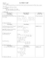 Tài liệu Toán lớp 6_ Tiết 17 pdf