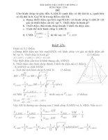 Tài liệu Bài kiểm tra hình học nâng cao 2 ppt