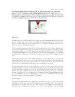 Tài liệu Mô phỏng quá trình gia công chi tiết có biên dạng phức tạp trên máy phay CNC PRIMERO và OKK bằng phần mềm MASTERCAM 9.1 pptx