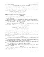đề cương ôn tập vật lý 9 HK1