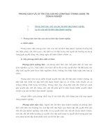 Tài liệu PHONG CÁCH VÀ UY TÍN CỦA CÁN BỘ LÃNH ĐẠO TRONG QUẢN TRỊ DOANH NGHIỆP docx