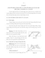 Tài liệu Chương 6: Chuyển động tịnh tiến và chuyển động quay quanh một trục cố định của vật rắn ppt