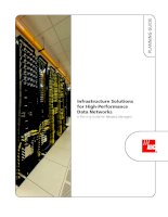 Tài liệu Infrastructure Solutions for High-Performance Data Networks A Planning Guide for Network Managers docx