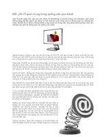 Tài liệu Bốn yếu tố quan trọng trong quảng cáo qua email doc