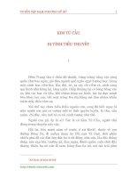 Tài liệu Tuyển tập Đạm Phương Nữ sử ( Q4 ) doc