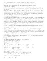 Tài liệu Bồi dưỡng HSG môn Hóa lớp 9