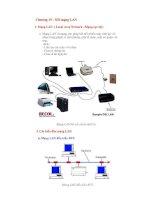 Chuong 15 LAN internet bảo trì máy tính-CTLR & Cai Dat May Tinh