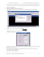 Tài liệu Giải bài toán kết cấu xây dựng bằng phần mềm sap pptx
