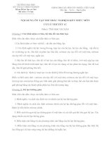 Tài liệu NỘI DUNG ÔN TẬP THI TRẮC NGHIỆM KẾT THÚC MÔN CƠ LÝ THUYẾT 1C pptx