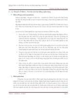 M&A và vấn đề tái cấu trúc hệ thống ngân hàng việt nam