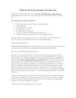 Tài liệu Kiểm tra đã đầy đủ mà main vẫn chưa chạy pdf
