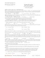 Tài liệu Đề số 07_Đề thi thử đại học 2010 môn Vật lý khối A (Bộ 10 đề vật lý) ppt