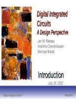 Tài liệu Integrated Circuits A Design Perspective pptx