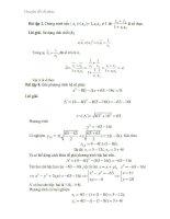 Chuyên đề số phức lớp 12 nâng cao