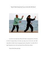 Tài liệu Người bệnh tăng huyết áp có nên chơi thể thao? pdf