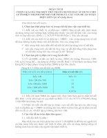 Tài liệu Phân tích giá trị điện trở nối đất lưới điện TP.HCM (tt) pptx