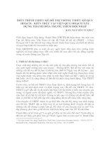 Tài liệu DIỄN TRÌNH THIẾT KẾ ĐÔ THỊ TRONG THIẾT KẾ QUY HOẠCH - KIẾN TRÚC (Thanh Hóa) ppt