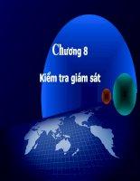 Tài liệu Chương 8: Kiểm tra giám sát pdf