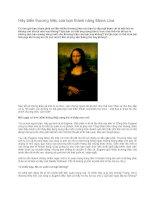 Tài liệu Hãy biến thương hiệu của bạn thành nàng Mona Lisa pptx